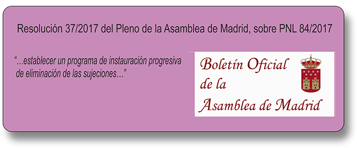 Resolución asamblea madrid
